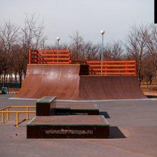 Фото: Скейт парк в парке 300-летия, СПб - FK-ramps