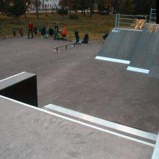 Скейт парк в Рыбинске от FK-ramps