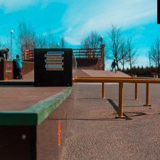 Скейт парк в парке 300-летия в Петербурге - FK-ramps