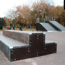 Деревянный скейт парк вРыбинске, фото № 11