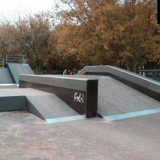 Деревянный скейт парк в Рыбинске - FK-ramps