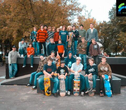 Скейт парк в Рыбинске, Ярославская область - FK-ramps