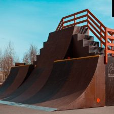 Скейт парк в парке 300-летия, Санкт-Петербург - FK-ramps