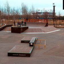 Скейт парк в парке 300-летия, Санкт-Петербург от FK-ramps