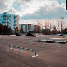 Фото: Скейт парк в Сургуте - FK-ramps