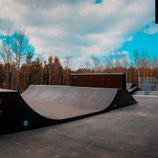 Скейт парк в Сургуте, в Городском парке «Сайма» от FK-ramps