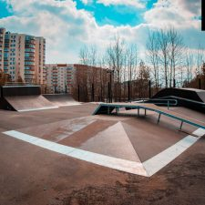 Скейт парк в Сургуте, в Городском парке «Сайма» - FK-ramps
