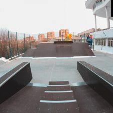 Деревянный скейт парк во Владивостоке - FK-ramps