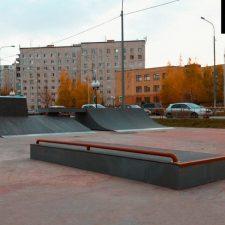 Деревянный скейт парк в Корабельном сквере от FK-ramps