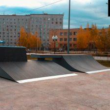 Фото: скейт парк в Корабельном сквере - FK-ramps