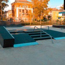 Деревянный скейт парк в Глазове - FK-ramps