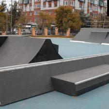 Скейт парк в Тюмени у Дворца искусств «Пионер» - FK-ramps