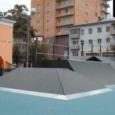 Скейт парк в Тюмени от FK-ramps
