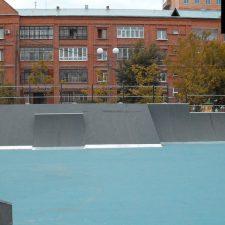 Фото: скейт парк в Тюмени от FK-ramps