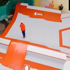 Фото скейт парка на ВДНХ (МТС) от FK-ramps