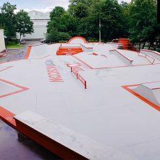Скейт парк МТС на ВДНХ - FK-ramps