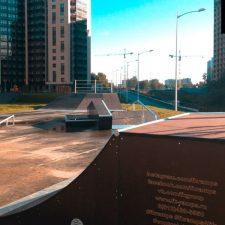 Фото: скейт парк в Мурино от FK-ramps