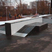 Скейт парк на Борисовских прудах, Москва от FK-ramps