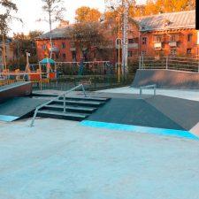 Скейт парк в Глазове - FK-ramps