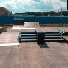 Деревянный скейт парк в Екатеринбурге - FK-ramps