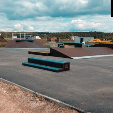 Деревянный скейт-парк впоселке «АлыеПаруса», фото № 5