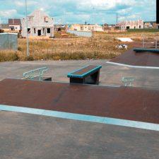 Деревянный скейт парк в Екатеринбурге от FK-ramps