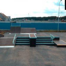 Скейт парк в Екатеринбурге, поселок «Алые Паруса» от FK-ramps