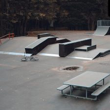Скейт парк в Филевском парке - FK-Ramps