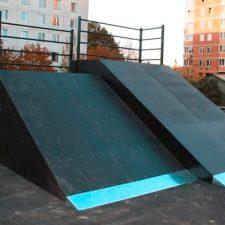Деревянный скейт-парк впоселкеГорки‑10, фото № 4