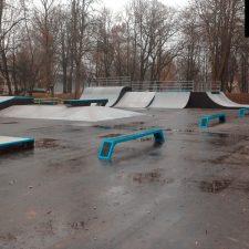 Деревянный скейт парк в Советске от FK-ramps