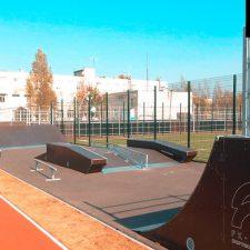 Скейт парк в Лесколово, Ленинградская область - FK-ramps