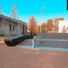 Скейт парк в Лесколово, Ленинградская область от FK-ramps