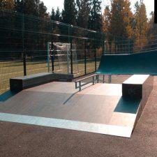 Скейт парк в Лесколово - FK-ramps