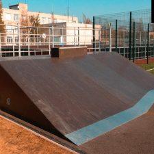 Фото: скейт парк в Лесколово - FK-ramps