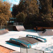 Деревянный скейт-парк в парке «Швейцария», фото № 2
