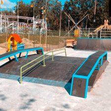 Деревянный скейт-парк в парке «Швейцария», фото № 3