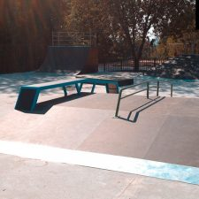 Деревянный скейт-парк в парке «Швейцария», фото № 5