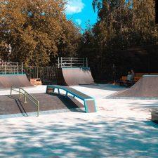 Деревянный скейт-парк в парке «Швейцария», фото № 6