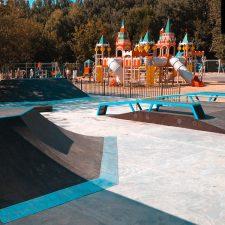 Деревянный скейт-парк в парке «Швейцария», фото № 7