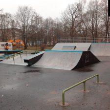 Скейт парк в Советске, Калининградская область от FK-ramps