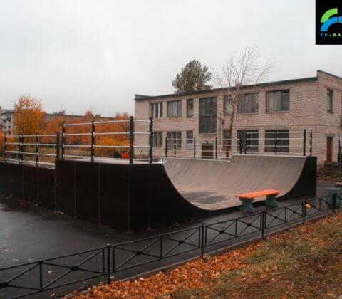 Скейт парк в Шушарах от FK-ramps
