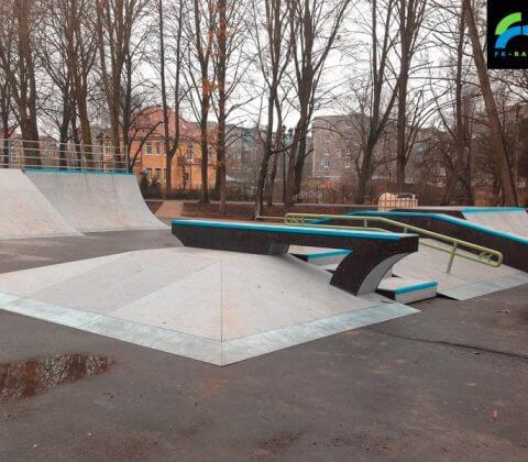 Скейт парк в Советске, Калининградская область - FK-ramps