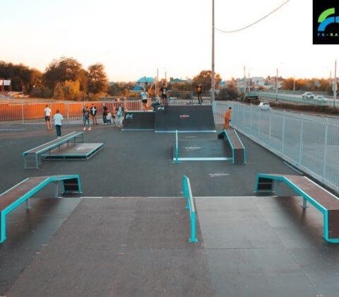 Скейт парк в Балаково, на ул. Трнавской - FK-ramps
