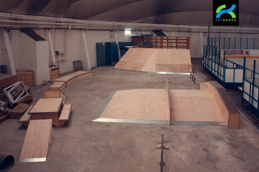 Крытый скейт-парк в г.Кызыл, СК «Субедей»
