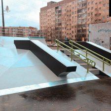 Скейт парк во Всеволожске, Ленинградская область от FK-ramps