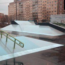 Деревянный скейт парк во Всеволожске - FK-ramps