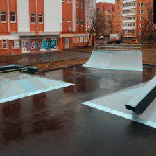 Деревянный скейт-парк во Всеволожске, фото № 8