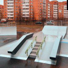 Скейт парк во Всеволожске, Ленинградская область - FK-ramps