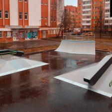 Деревянный скейт-парк во Всеволожске, фото № 9