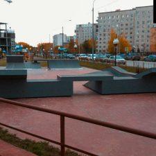 Скейт парк в Корабельном сквере, Тюмень - FK-ramps